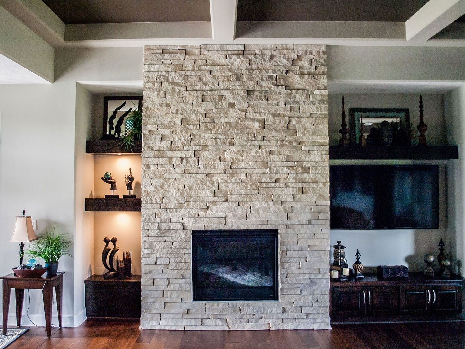 Natural Stone Maintenance Fireplace