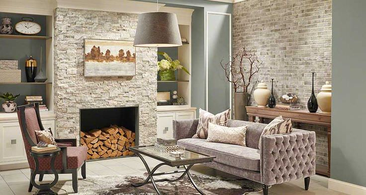 How to Choose Natural Stone fireplace