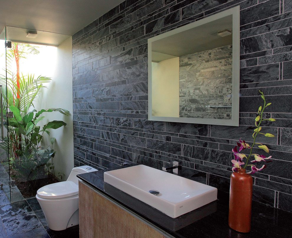 Natural Bathroom Ideas: Natural Stone Design Bathroom Ideas