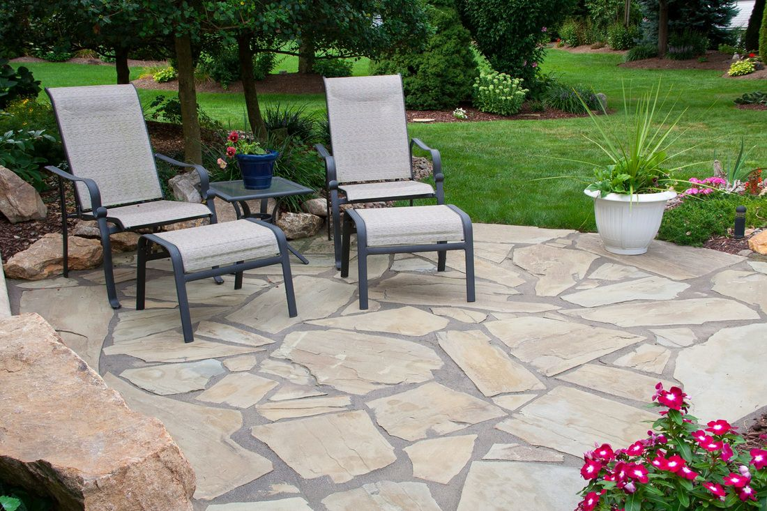 Accent Your Landscaping With Natural Stone patio - Summer is Here! Try These Natural Stone Patio Ideas