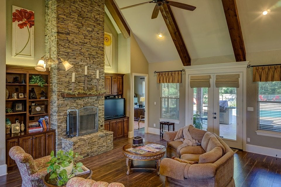 Natural Stone Fireplace Design Tips
