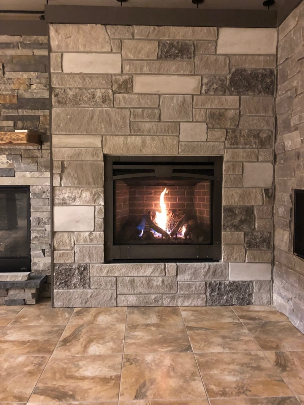 Natural Stone Fireplace Design Ideas in Omaha & Lincoln, Nebraska
