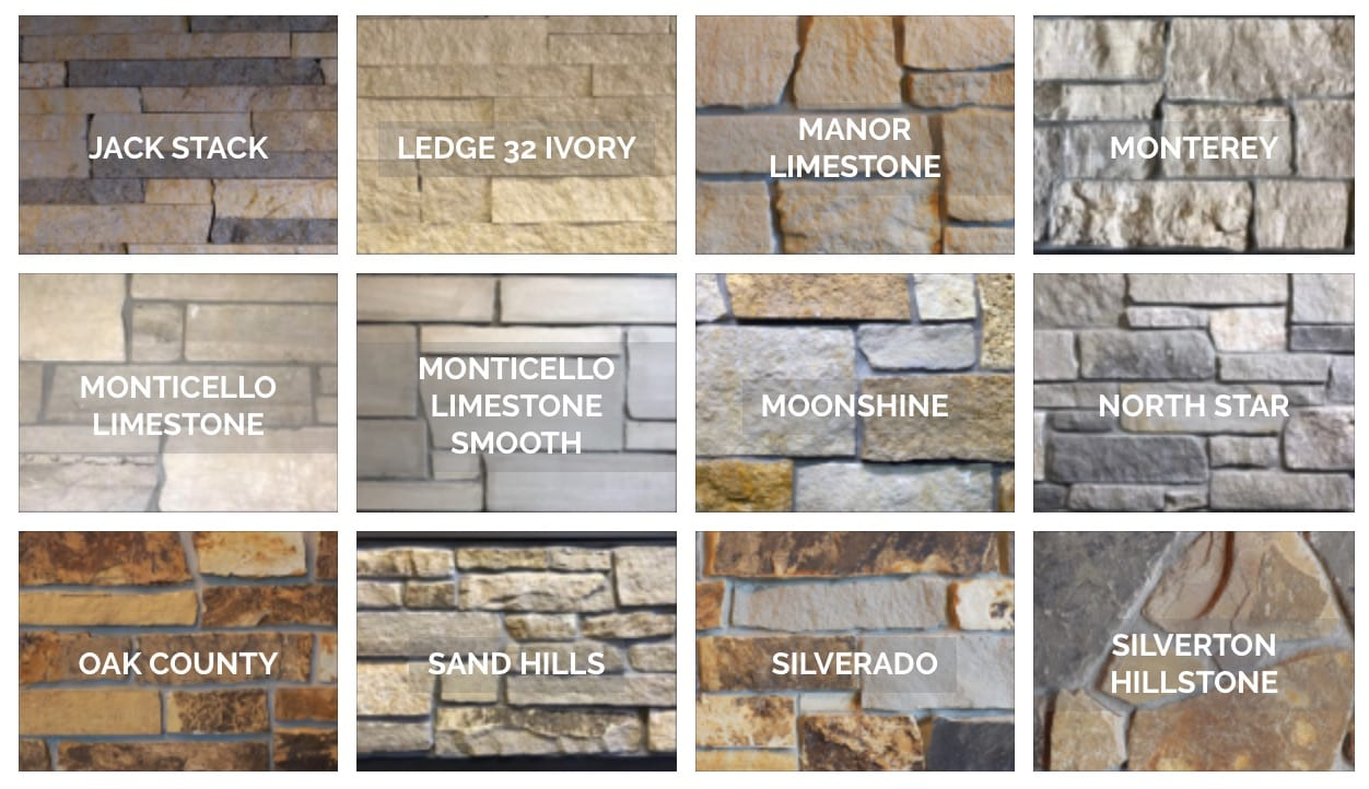 Some Advice When Selecting Natural Stone Colors For Your Home - Natural Stone Veneer and Fireplaces in Lincoln and Omaha, Nebraska