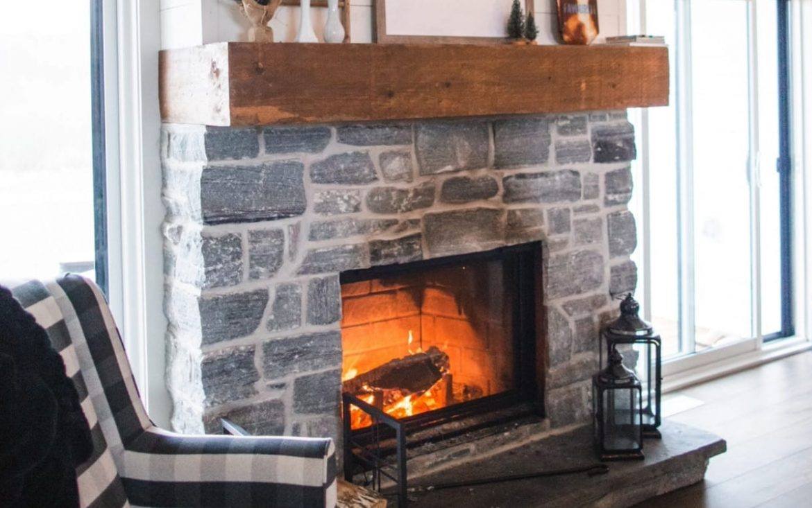 How To Properly Clean a Natural Stone Fireplace in Omaha, Nebraska - Fireplace stores in Omaha and Lincoln, Nebraska