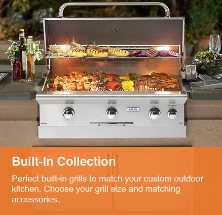 Built in Grill - Outdoor Kitchens - Serving the Omaha and Lincoln, Nebraska Regions