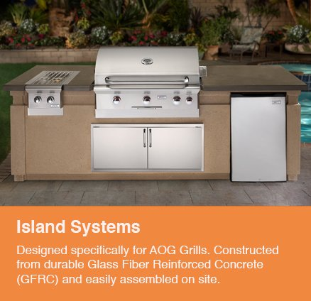 Island System - Outdoor Kitchens - Serving the Omaha and Lincoln, Nebraska Regions