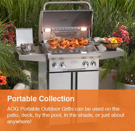 Portable Grill - Outdoor Kitchens - Serving the Omaha and Lincoln, Nebraska Regions