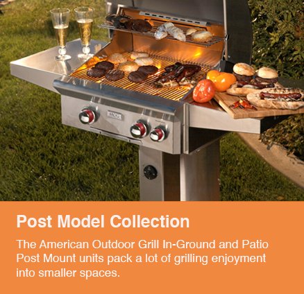 Post Model Grill - Outdoor Kitchens - Serving the Omaha and Lincoln, Nebraska Regions